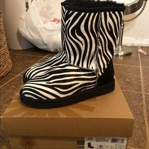 Zebra Ugg's